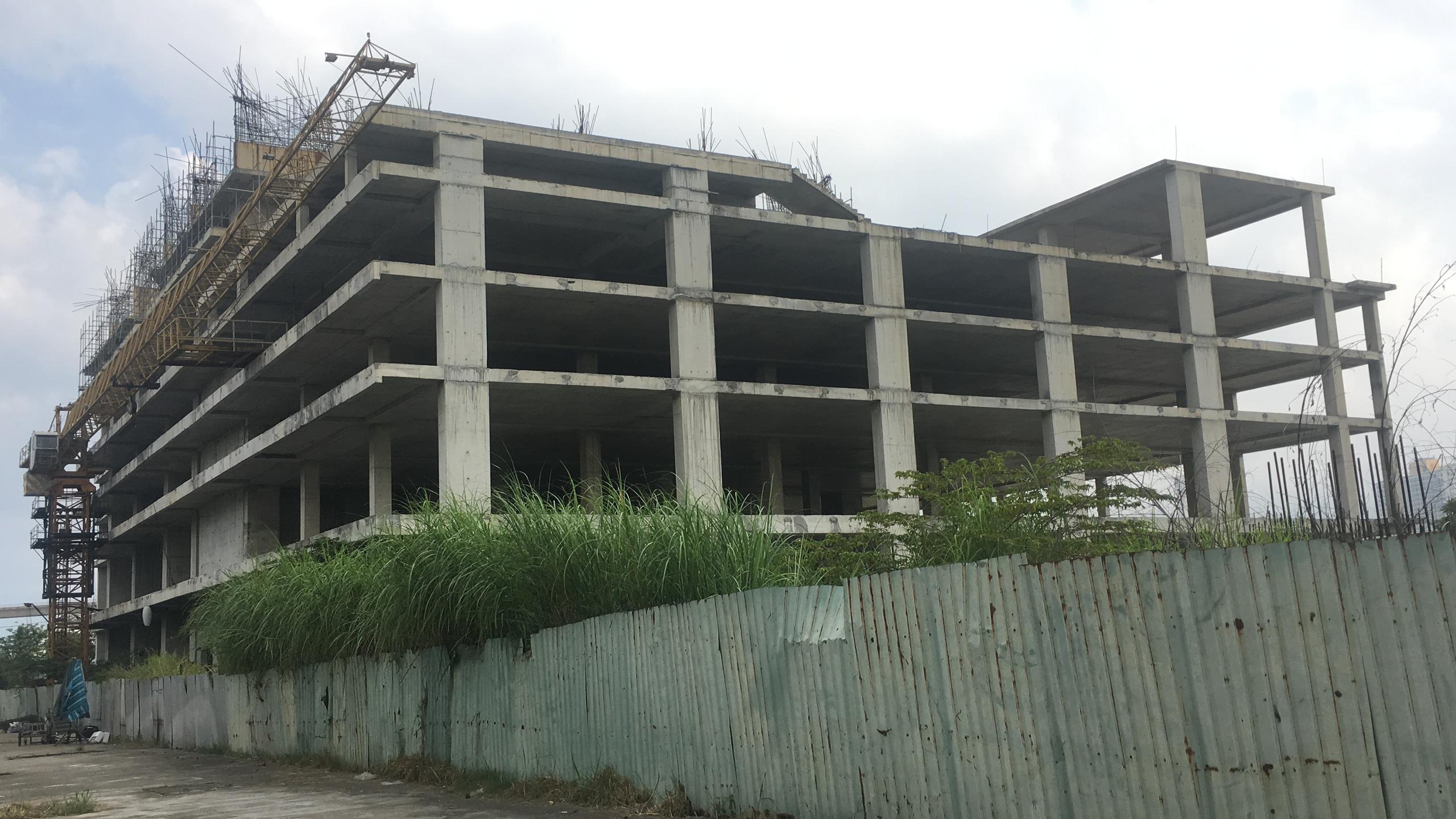 Dự án chung cư cao cấp bỏ hoang trên đất vàng mặt tiền sông Hàn Đà Nẵng - Ảnh 6.