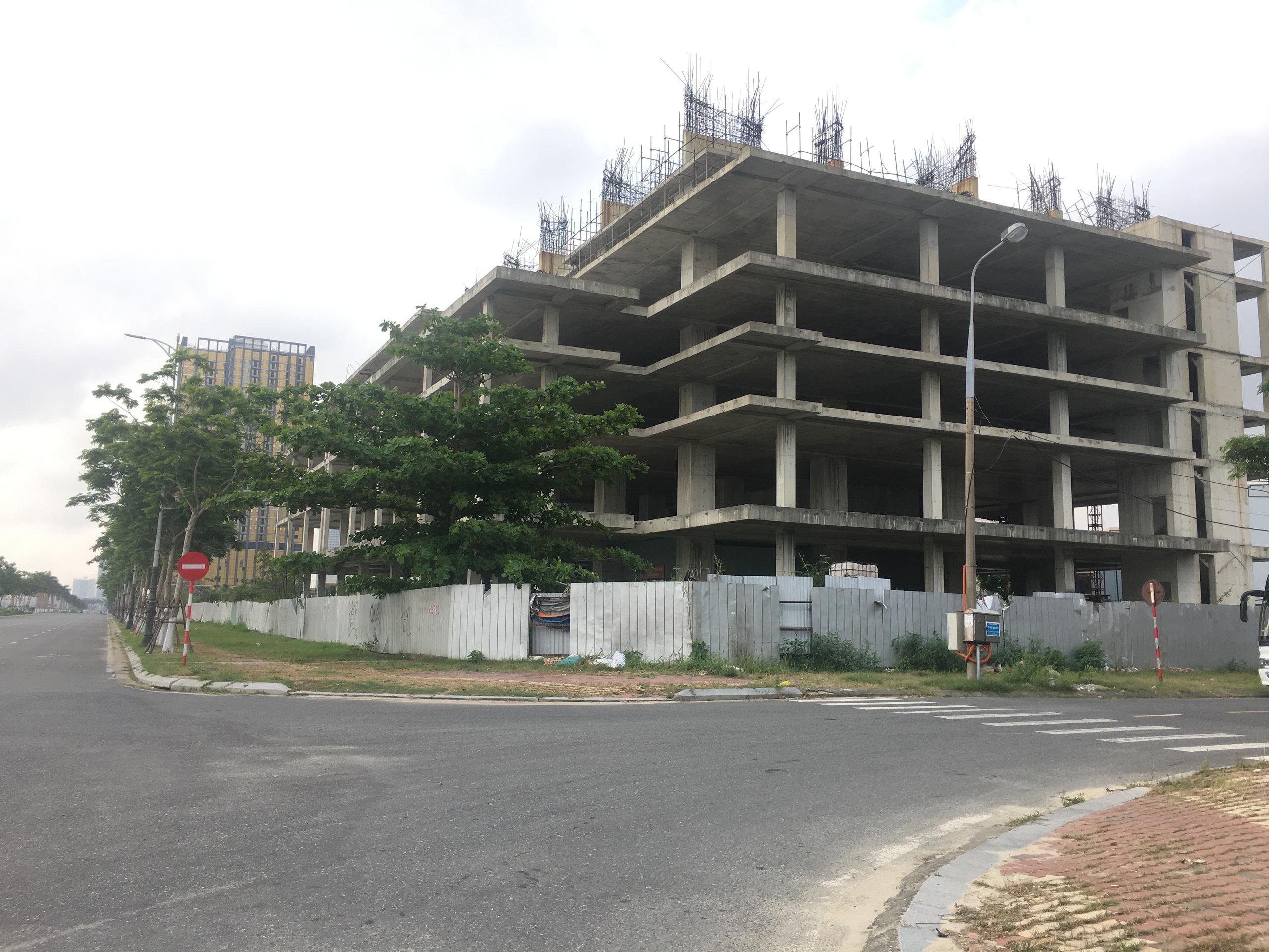 Dự án chung cư cao cấp bỏ hoang trên đất vàng mặt tiền sông Hàn Đà Nẵng - Ảnh 5.
