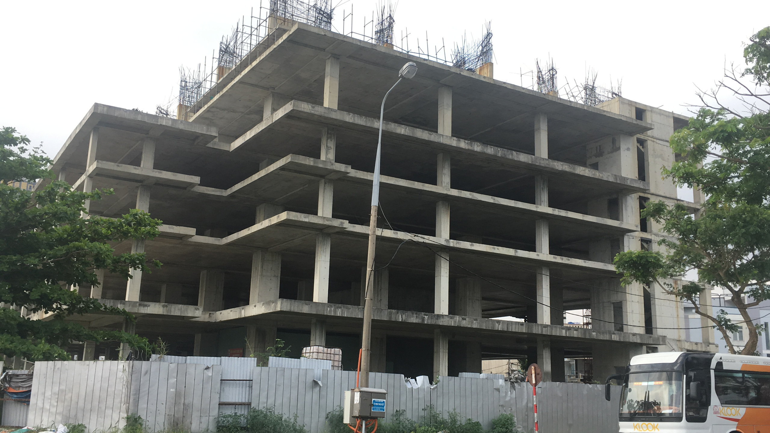 Dự án chung cư cao cấp bỏ hoang trên đất vàng mặt tiền sông Hàn Đà Nẵng - Ảnh 7.