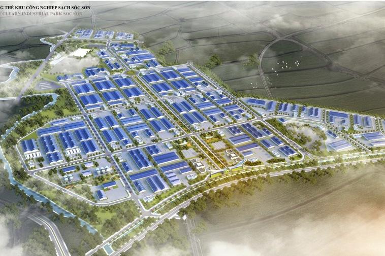 Sóc Sơn sắp có khu công nghiệp sạch hơn 3.200 tỷ đồng