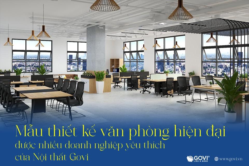 Kiến tạo không gian làm việc đầy cảm hứng với nội thất văn phòng Govi - Ảnh 1.