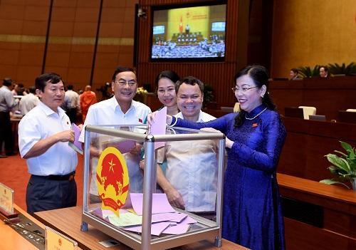 Miễn nhiệm 5 ủy viên Ủy ban Thường vụ Quốc hội và Tổng Kiểm toán Nhà nước - Ảnh 1.