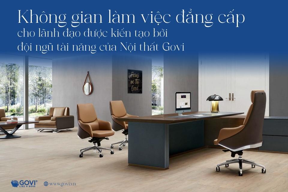 Kiến tạo không gian làm việc đầy cảm hứng với nội thất văn phòng Govi - Ảnh 3.