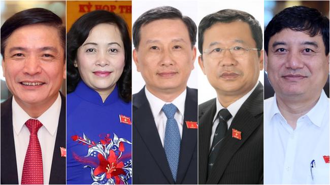 Danh sách 5 người trúng cử Ủy viên Ủy ban Thường vụ Quốc hội - Ảnh 1.