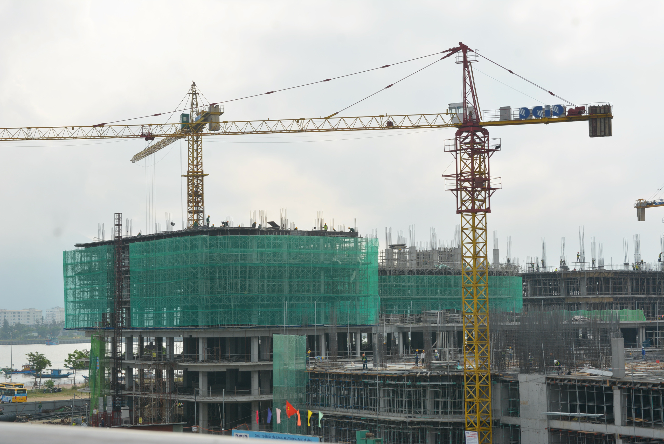 Dự án Khu công viên phần mềm số 2 hơn 700 tỷ đồng Đà Nẵng thành hình sau 5 tháng thi công - Ảnh 8.