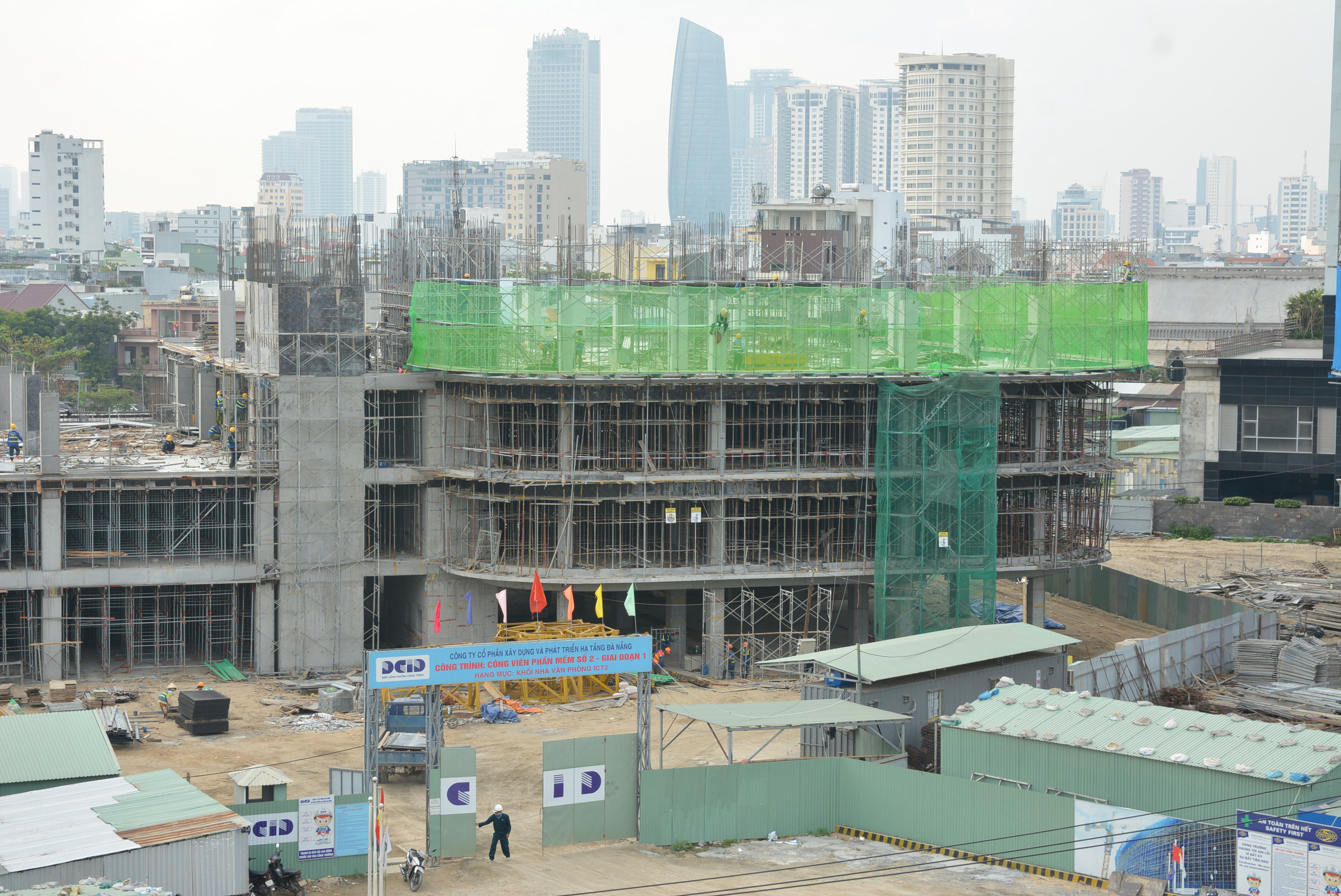 Dự án Khu công viên phần mềm số 2 hơn 700 tỷ đồng Đà Nẵng thành hình sau 5 tháng thi công - Ảnh 9.