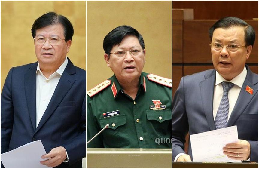 Miễn nhiệm Phó Thủ tướng Trịnh Đình Dũng và 12 bộ trưởng, trưởng ngành  - Ảnh 2.