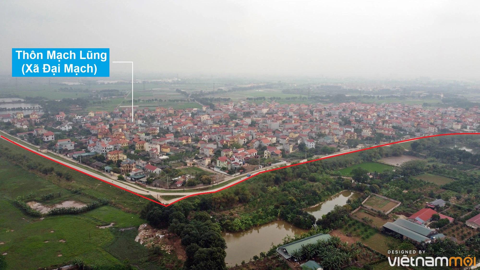 Toàn cảnh hiện trạng Phân khu đô thị sông Hồng trên địa bàn huyện Đông Anh - Ảnh 4.