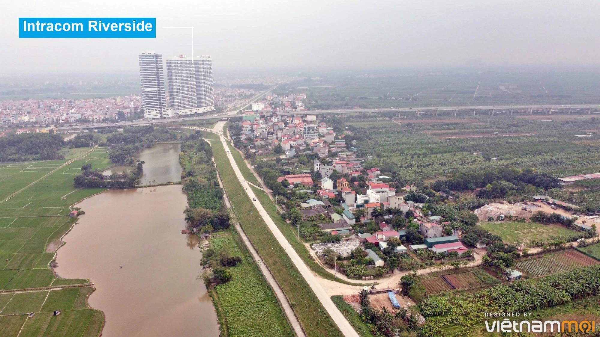 Toàn cảnh hiện trạng Phân khu đô thị sông Hồng trên địa bàn huyện Đông Anh - Ảnh 23.