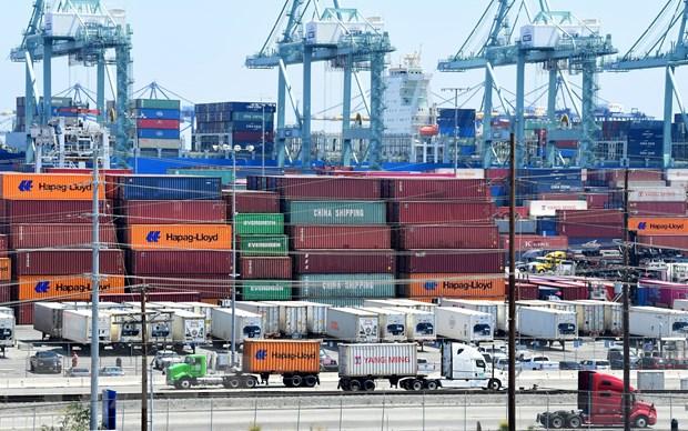Thâm hụt thương mại Mỹ tăng lên mức cao kỷ lục trong tháng 2/2021 - Ảnh 1.