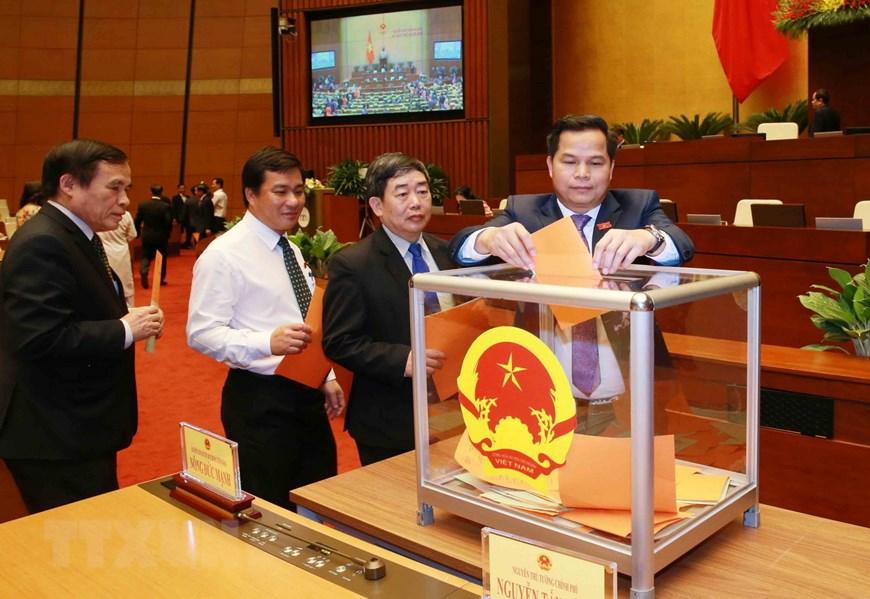 Phê chuẩn danh sách Phó Chủ tịch và Ủy viên Hội đồng Bầu cử quốc gia - Ảnh 2.
