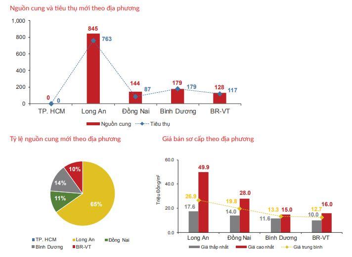 Nguồn cung mới vùng phụ cận TP HCM dẫn đầu thị trường bất động sản - Ảnh 2.
