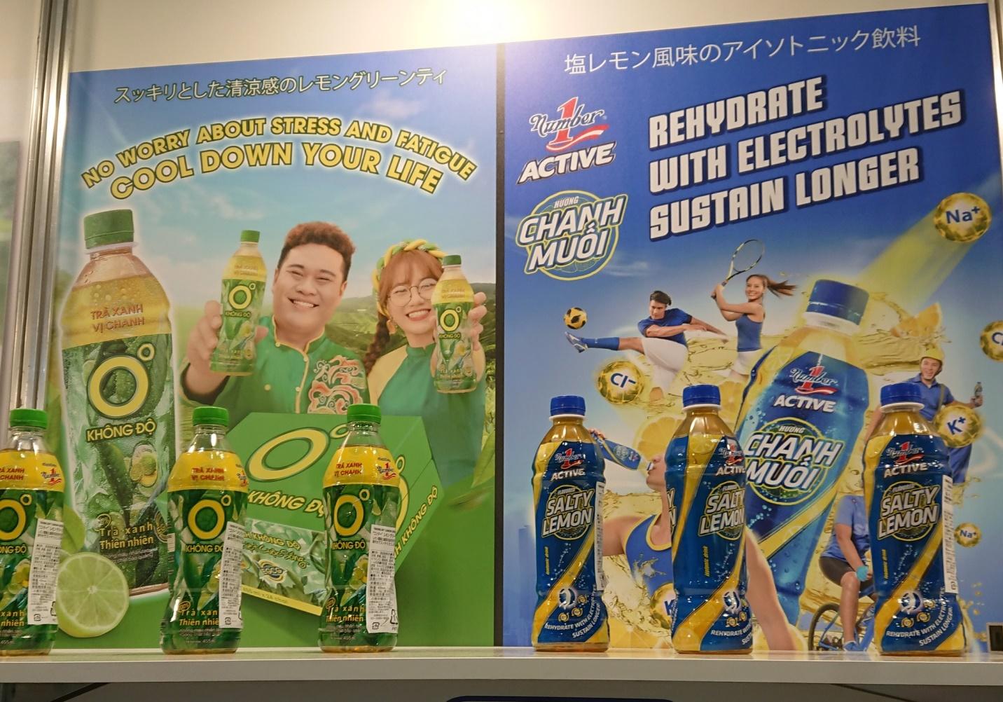 Thương hiệu nước giải khát Việt Nam xuất hiện nổi bật tại Foodex Japan 2021 - Ảnh 2.