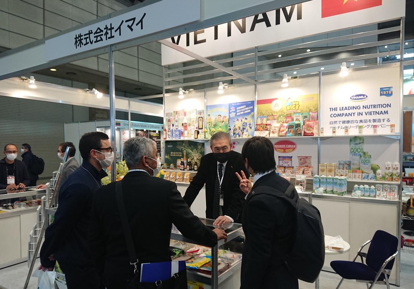 Thương hiệu nước giải khát Việt Nam xuất hiện nổi bật tại Foodex Japan 2021 - Ảnh 4.