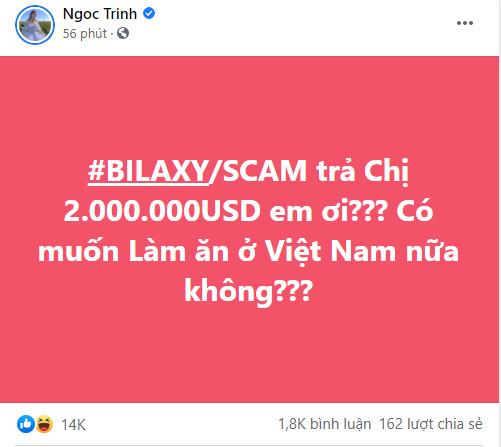 Ngọc Trinh khoe tài khoản gần 187 bitcoin, tố sàn giao dịch quỵt 2 triệu USD - Ảnh 2.
