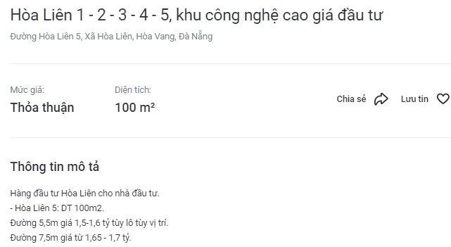 Thị trường BĐS Đà Nẵng 'xẹp' sau cơn sóng sốt giá đất - Ảnh 2.