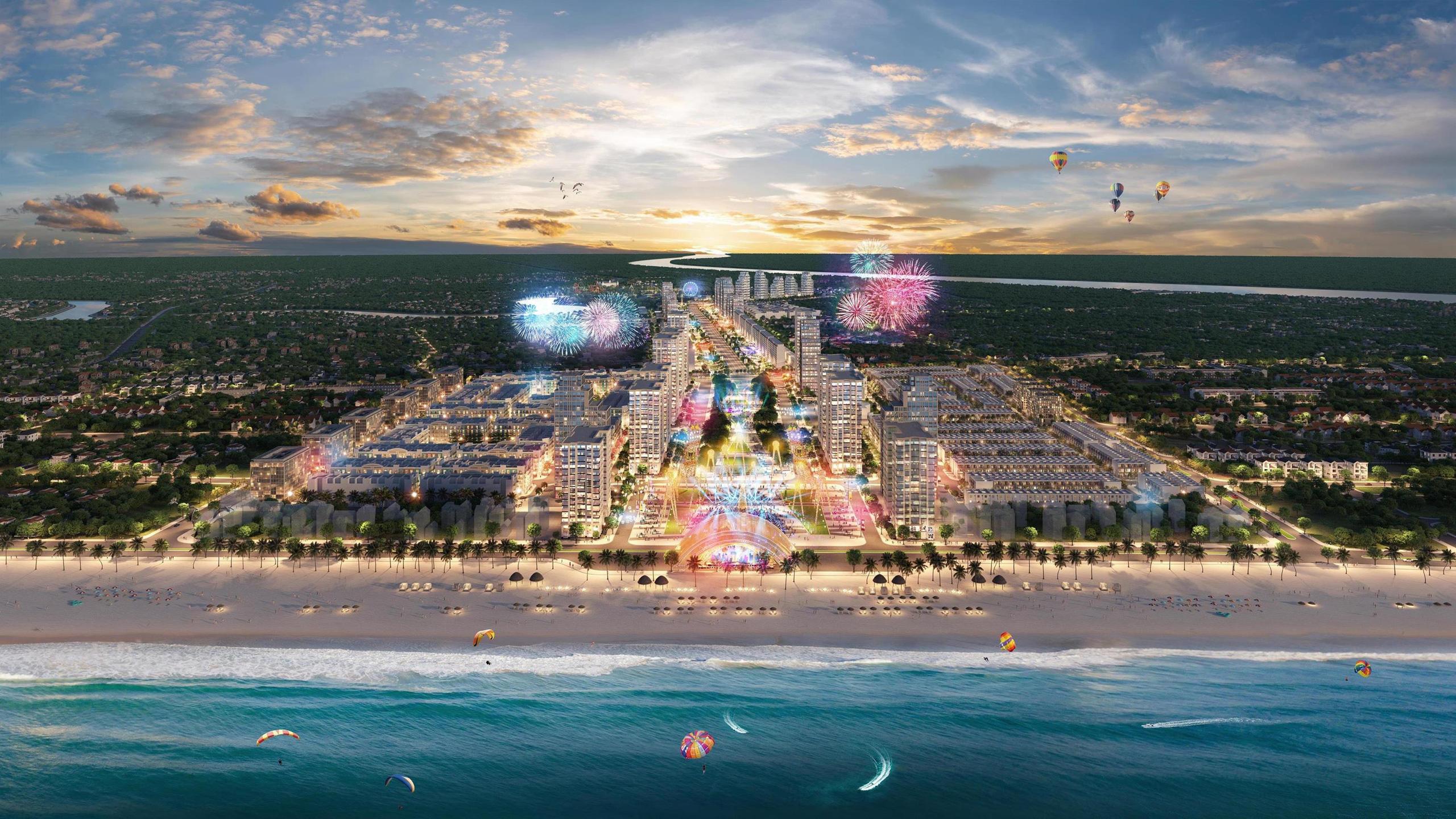 Khu đô thị quảng trưởng biển Sun Grand Boulevard chính thức ra mắt tại Sầm Sơn - Ảnh 1.