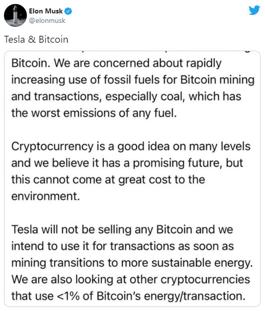 Tesla ngừng chấp nhận thanh toán mua xe bằng bitcoin - Ảnh 2.