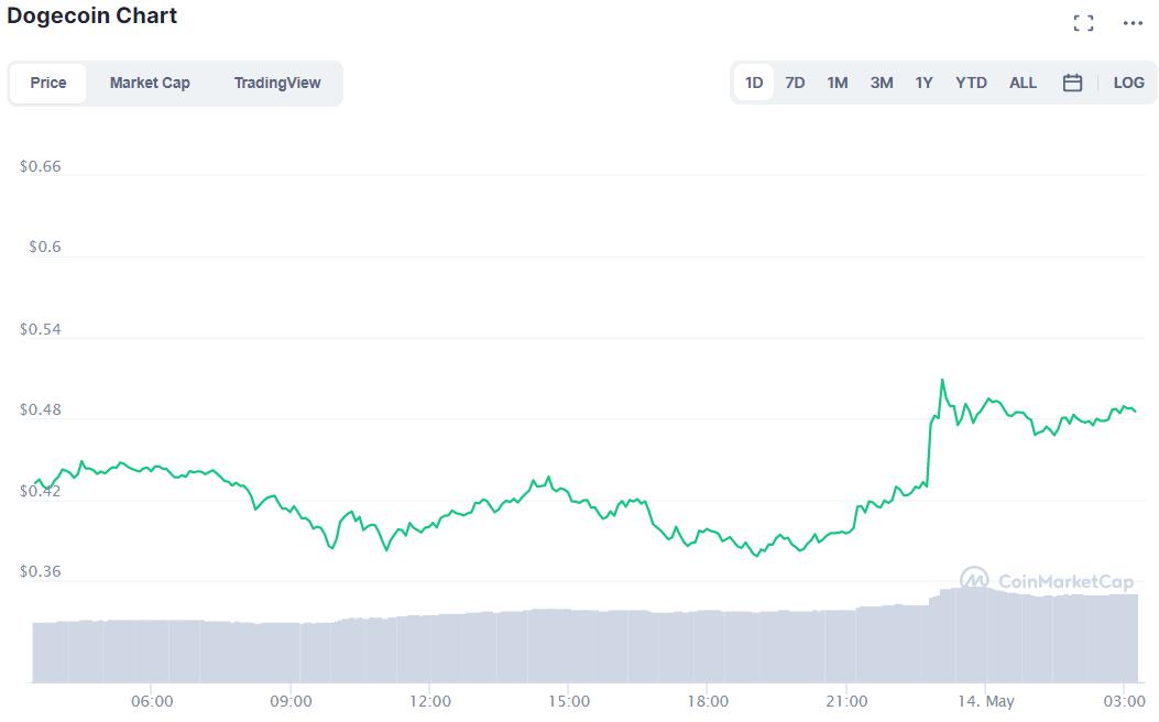 Tỷ phú Elon Musk 'trở mặt' với bitcoin, quay sang ủng hộ dogecoin - Ảnh 2.
