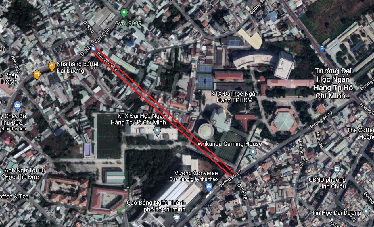 Hai đường sẽ mở theo quy hoạch tại phường Linh Chiểu, TP Thủ Đức - Ảnh 3.