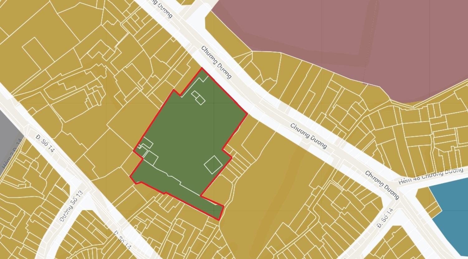 4 khu đất dính quy hoạch tại phường Linh Chiểu, TP Thủ Đức - Ảnh 3.