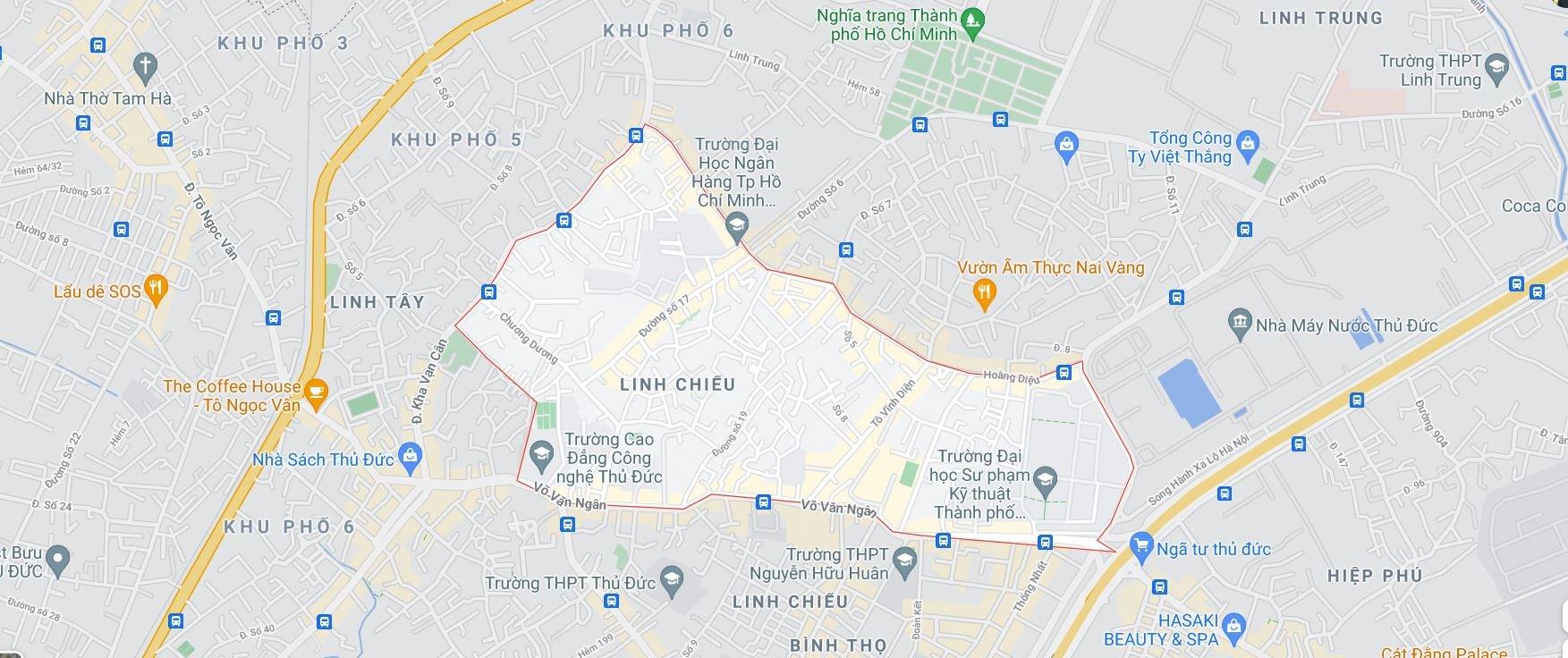 Hai đường sẽ mở theo quy hoạch tại phường Linh Chiểu, TP Thủ Đức - Ảnh 1.