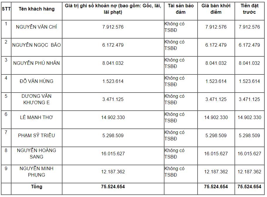 VietinBank đấu giá hàng loạt khoản nợ tiêu dùng không tài sản bảo đảm - Ảnh 2.