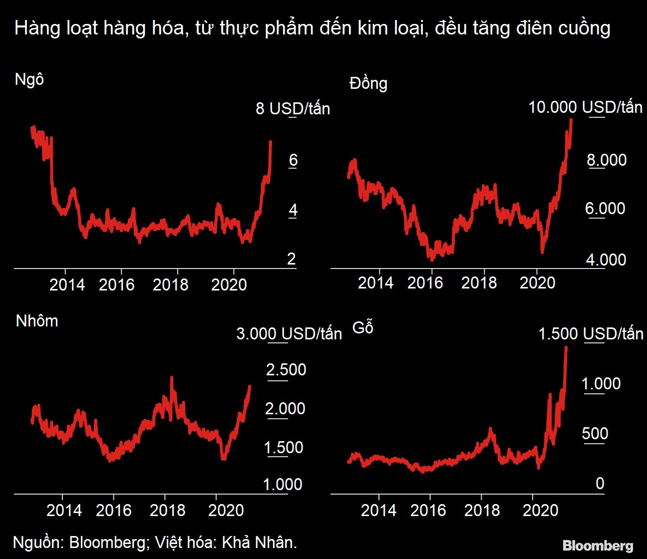 Thị trường hàng hóa trong cơn tăng điên cuồng, chưa biết khi nào chấm dứt - Ảnh 1.
