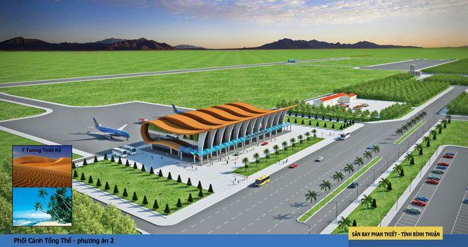 Lập Hội đồng thẩm định liên ngành về điều chỉnh chủ trương đầu tư sân bay Phan Thiết - Ảnh 1.