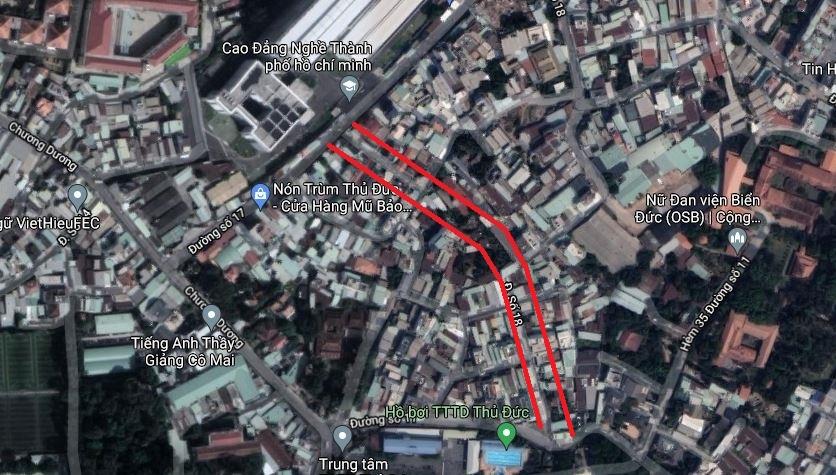 Ba đường sẽ mở theo quy hoạch tại phường Linh Chiểu, TP Thủ Đức - Ảnh 12.