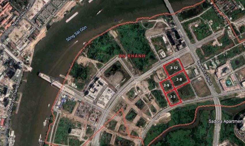 Hiện trạng 4 khu đất ở Thủ Thiêm sắp bán đấu giá - Ảnh 1.