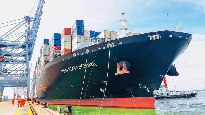 Một doanh nghiệp cảng biển dự chi 900 tỷ đồng cho đội tàu và hệ thống cảng, kỳ vọng lãi ròng bằng 114% so với thực hiện năm trước - Ảnh 1.