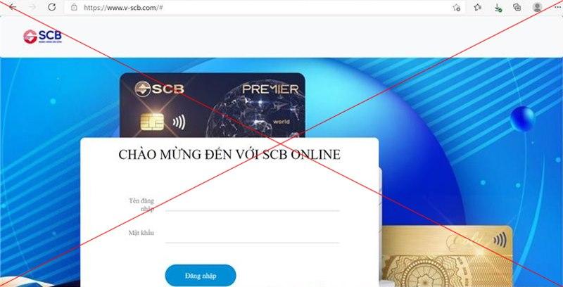 SCB cảnh báo tin nhắn mạo danh lừa đảo chiếm đoạt tiền - Ảnh 1.