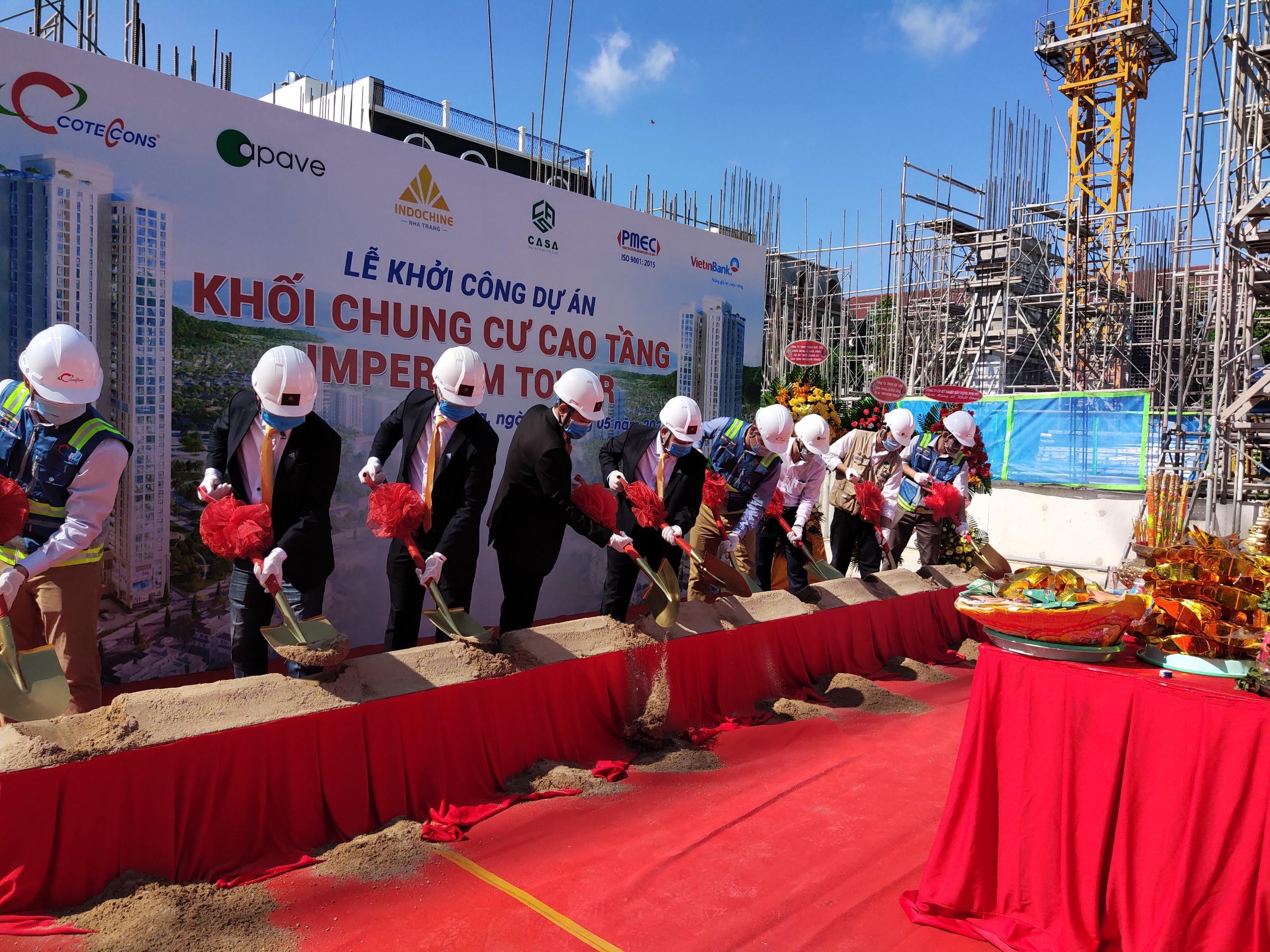 Khánh Hòa: Thêm dự án căn hộ thương mại được khởi công - Ảnh 1.