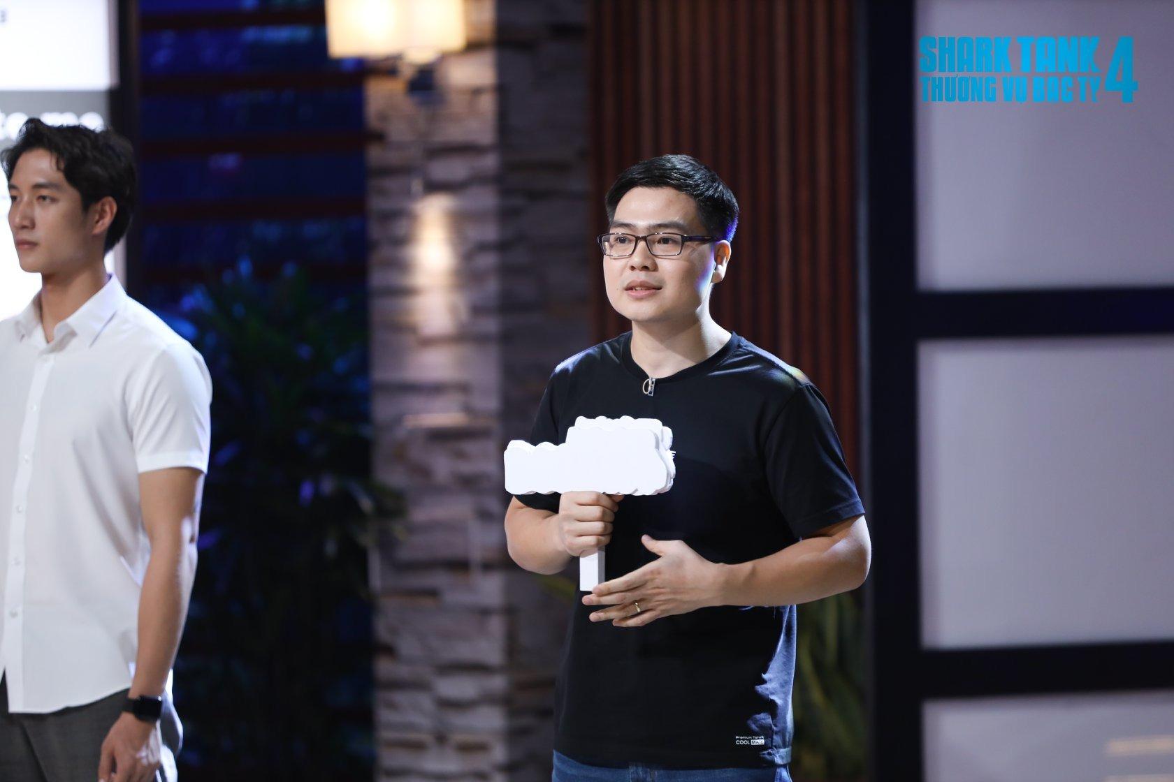 Founder startup được Shark Bình xuống tiền đặt cọc ngay trên sóng, cam kết cùng nhau thành 'trăm triệu phú' là ai? - Ảnh 1.