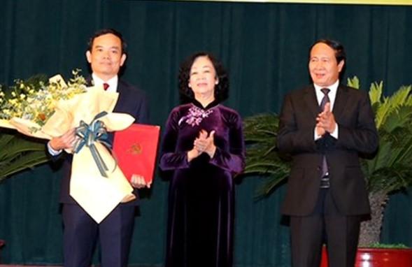 Ông Trần Lưu Quang giữ chức Bí thư Thành ủy Hải Phòng - Ảnh 1.