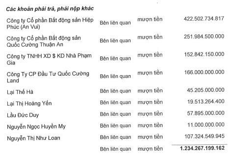 Bà Nguyễn Thị Như Loan bỏ trăm tỷ 'tiền túi' cho Quốc Cường Gia Lai vay - Ảnh 3.