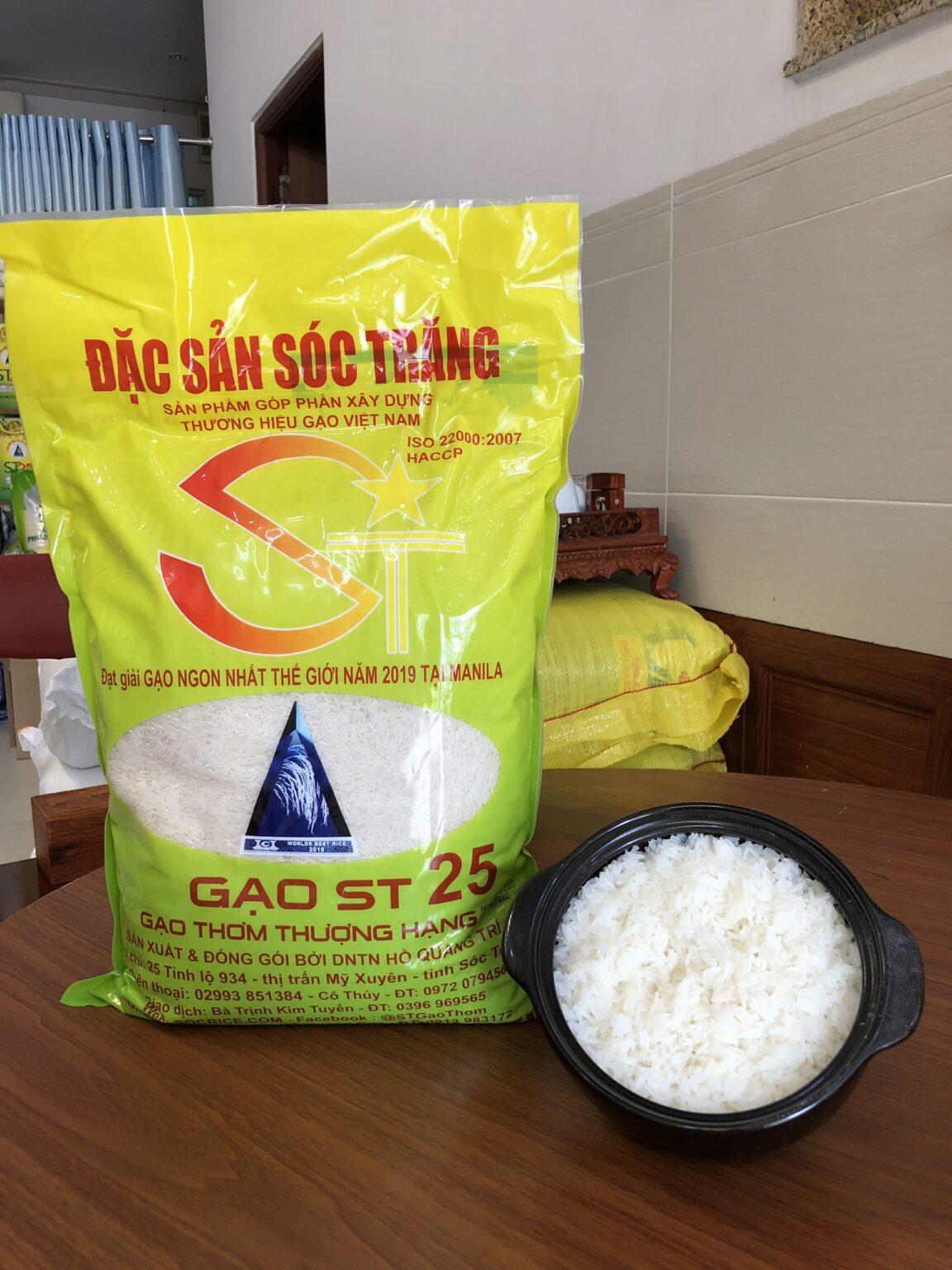 Tập đoàn PAN đứng ra bảo hộ thương hiệu gạo ST24, ST25 tại nước ngoài - Ảnh 1.