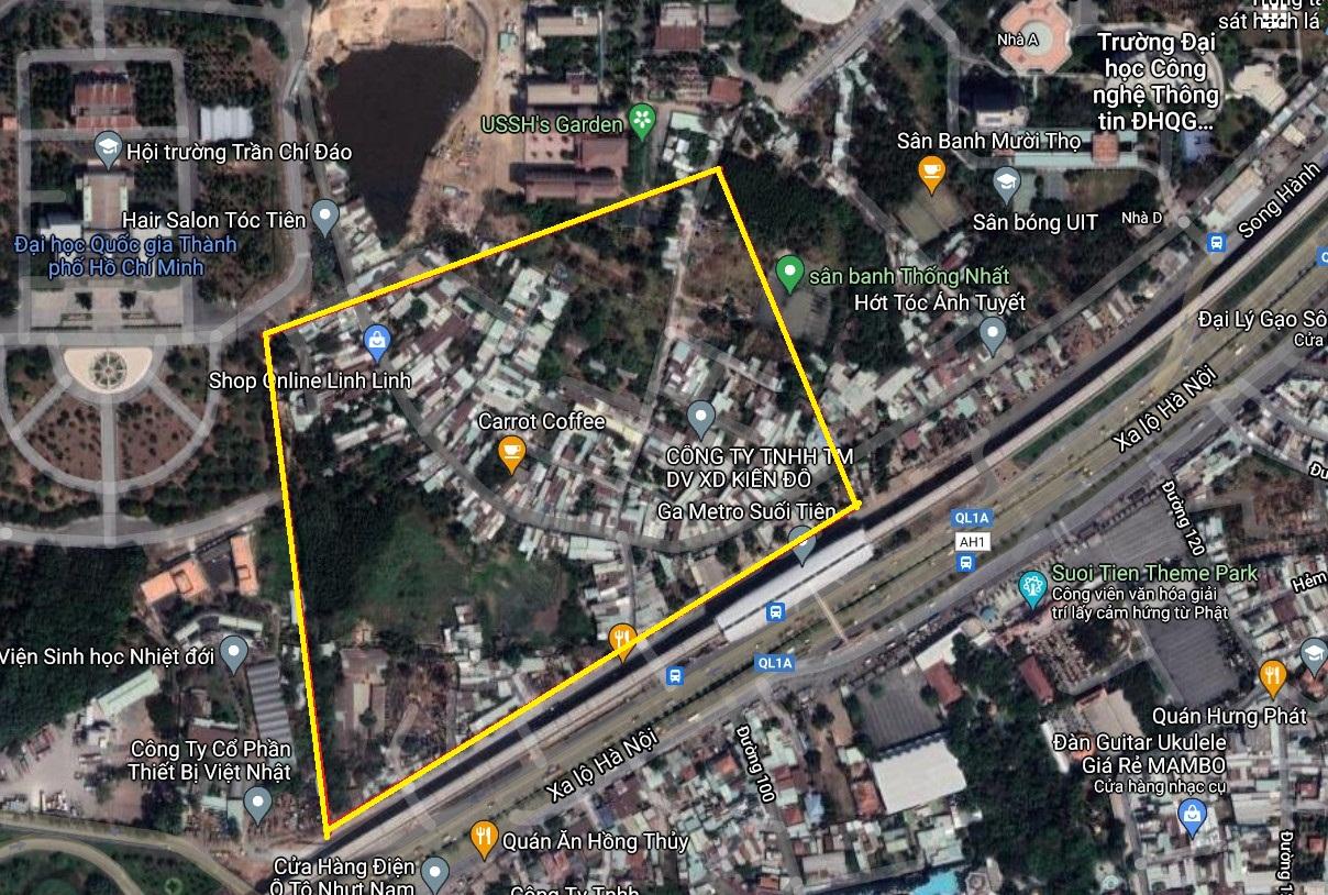 Đất dính quy hoạch ở phường Linh Trung, TP Thủ Đức, TP HCM - Ảnh 2.