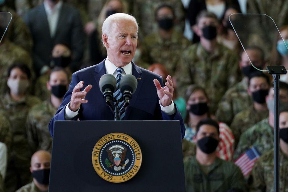 Ông Biden khởi động chuyến công du nước ngoài đầu tiên với cảnh báo đến Nga - Ảnh 1.