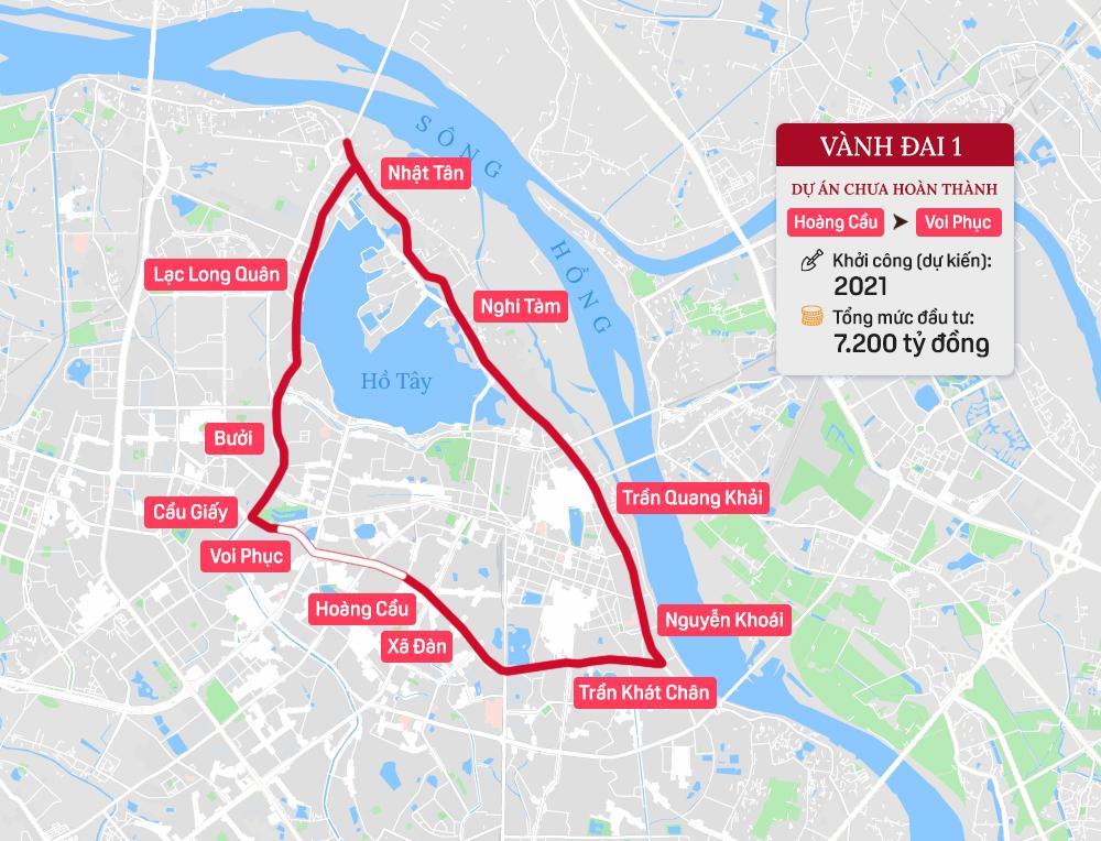 Toàn cảnh 7 tuyến đường vành đai của Hà Nội - Ảnh 2.