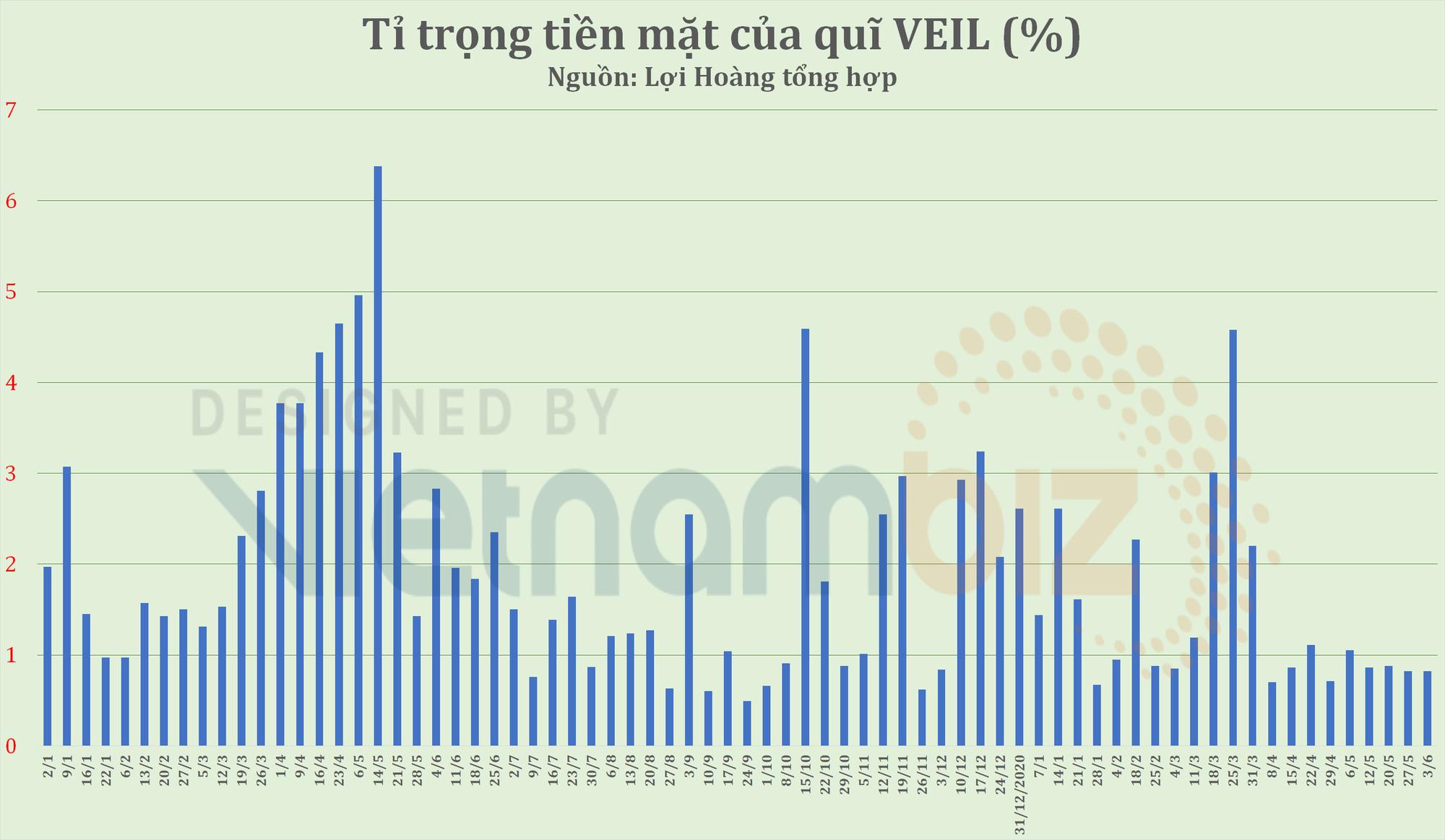 Lãi gấp đôi mức tăng VN-Index, Dragon Capital vẫn duy trì tỷ trọng tiền dưới 1% tại quỹ quy mô hơn 2,5 tỷ USD - Ảnh 1.