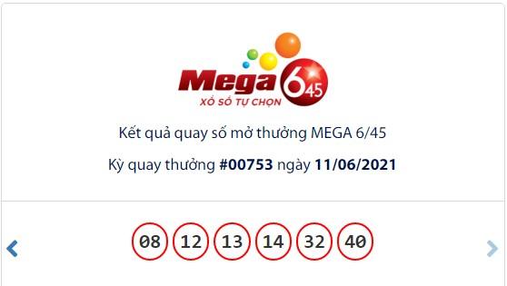 Kết quả Vietlott Mega 6/45 ngày 11/6: Jackpot giá trị hơn 13,4 tỷ đồng hụt chủ - Ảnh 1.