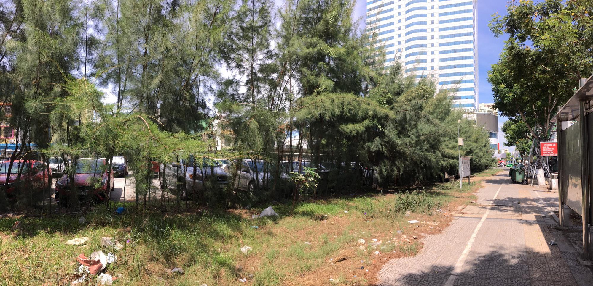 Cận cảnh hai khu đất gần cầu Rồng, Đà Nẵng sẽ đấu giá làm bãi đỗ xe - Ảnh 4.