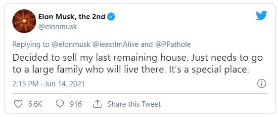 Elon Musk bán nốt căn nhà cuối cùng sau khi bị phanh phui hồ sơ thuế - Ảnh 1.