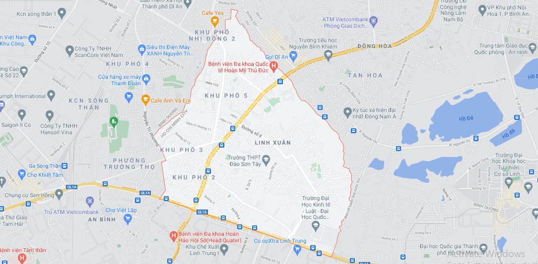 Ba khu đất dính quy hoạch tại phường Linh Xuân, TP Thủ Đức [phần 1] - Ảnh 1.