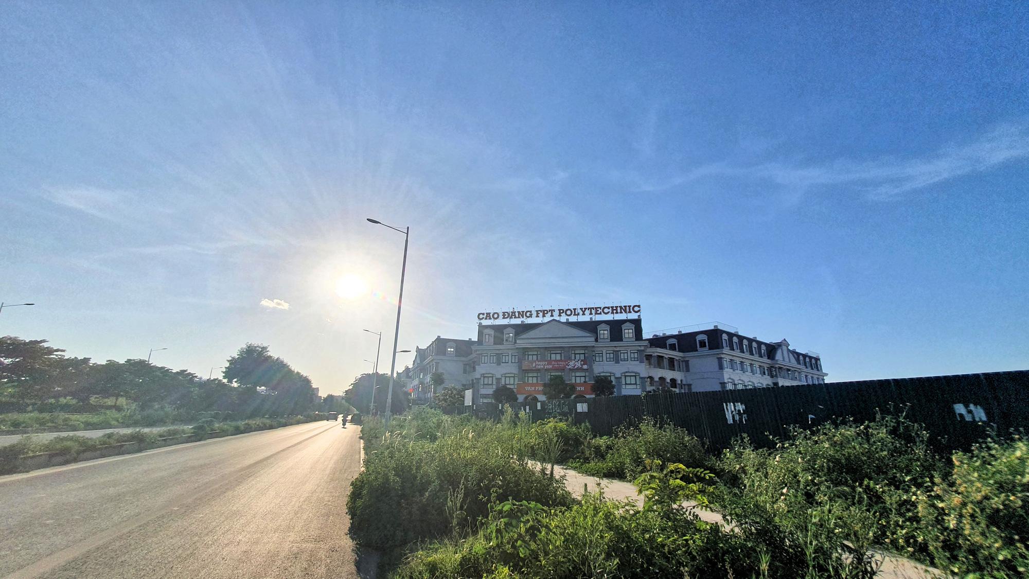 Cận cảnh đường nối KĐT Xuân Phương - Quốc lộ 32 sắp mở ở Nam Từ Liêm, Hà Nội - Ảnh 11.