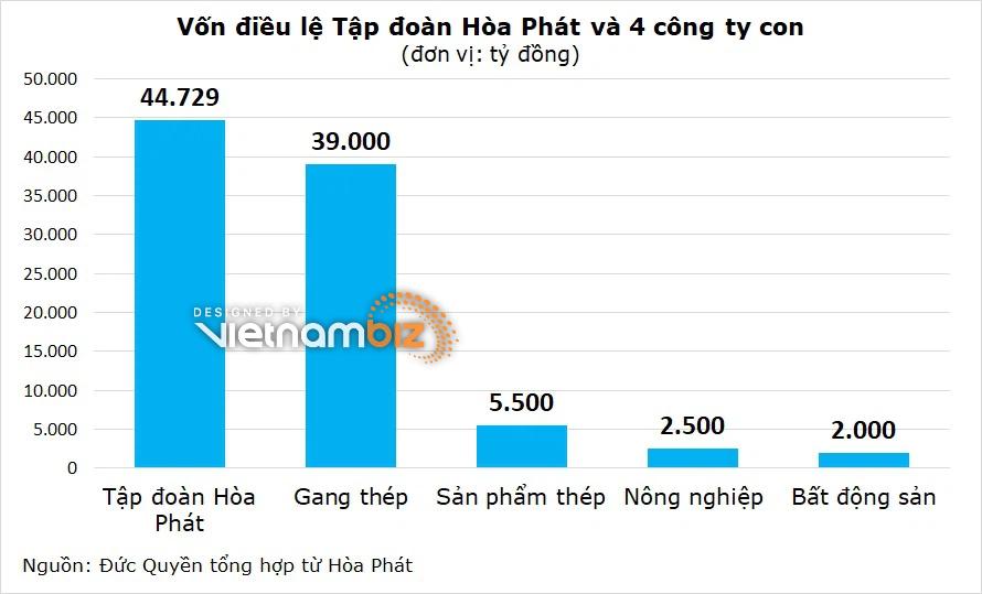 Hòa Phát tăng vốn thêm 2.000 tỷ đồng cho công ty con - Ảnh 3.