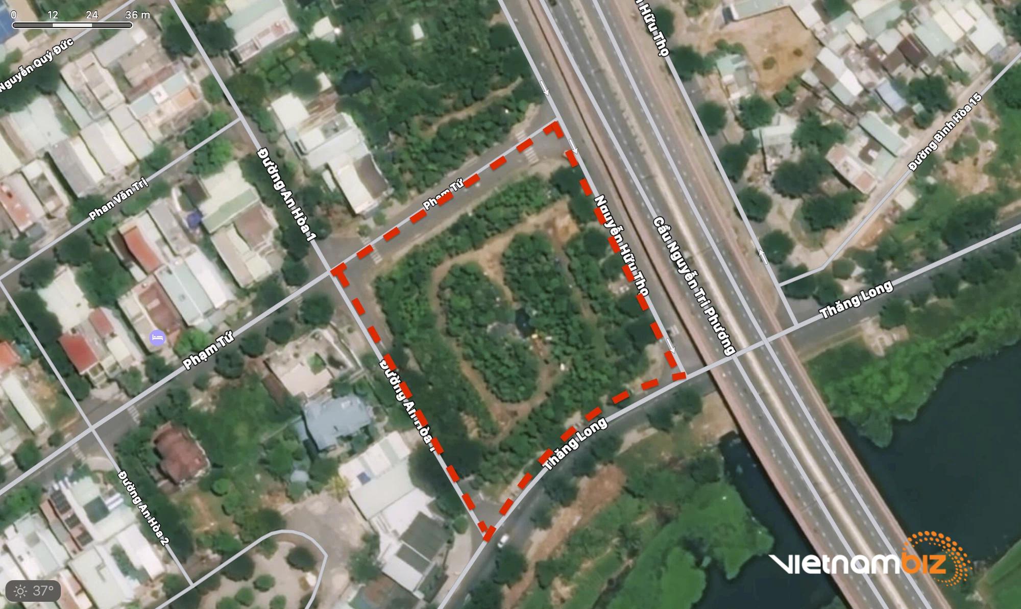Cận cảnh hai khu đất ở quận Cẩm Lệ, Đà Nẵng sẽ đấu giá làm bãi đỗ xe - Ảnh 1.