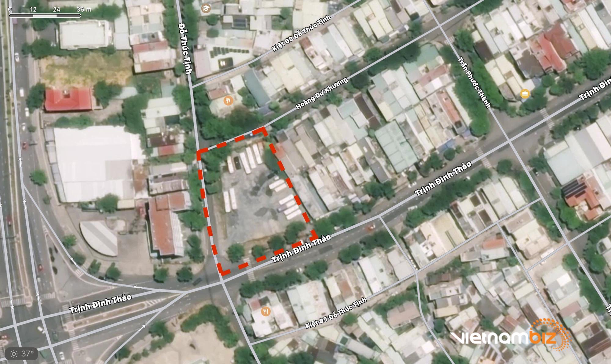 Cận cảnh hai khu đất ở quận Cẩm Lệ, Đà Nẵng sẽ đấu giá làm bãi đỗ xe - Ảnh 8.